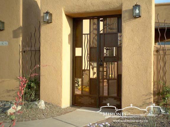 Courtyard Gates Las Misiones Ornamental Design Llc